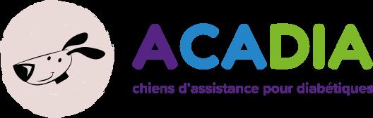 logo acadia chien d'assistance pour diabétique